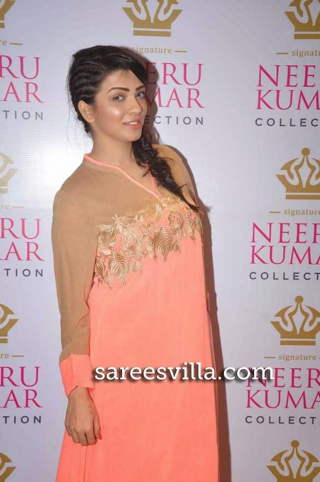 Parinidhi at Neeru Kumar Collection Launch