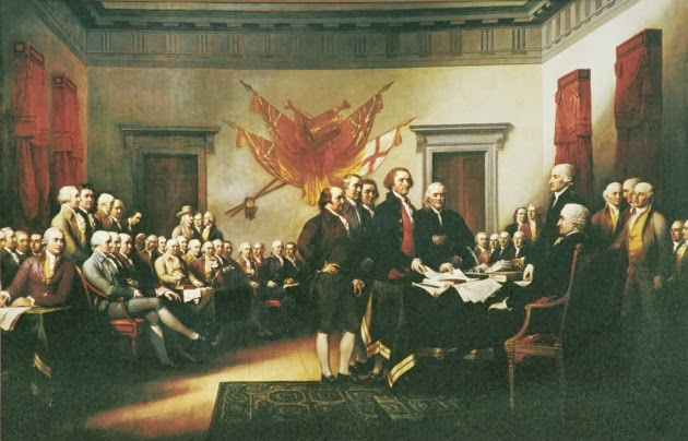 Mystery Man at Signing of Declaration of Independence