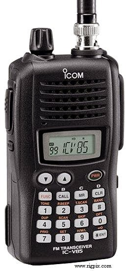 ICOM V85 USER MANUAL