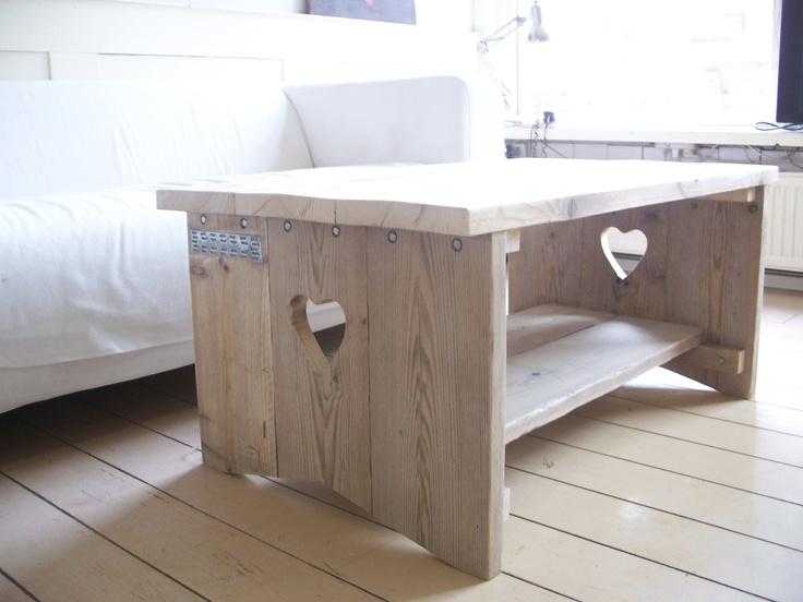 Mesa de centro madeira reutilizada
