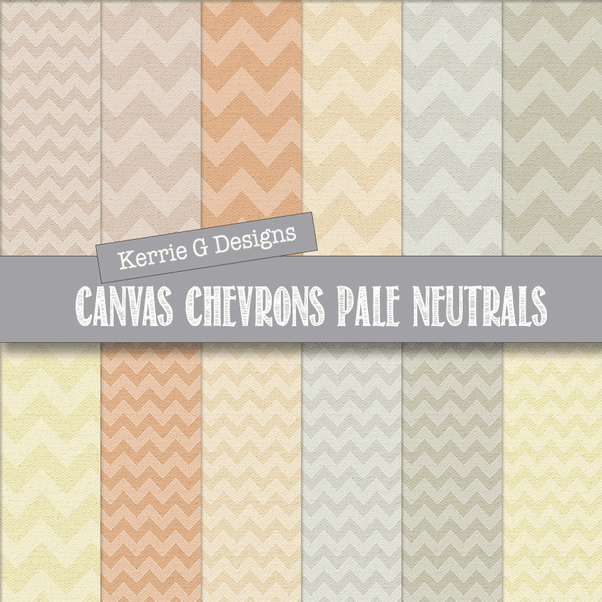Chevron pattern papers