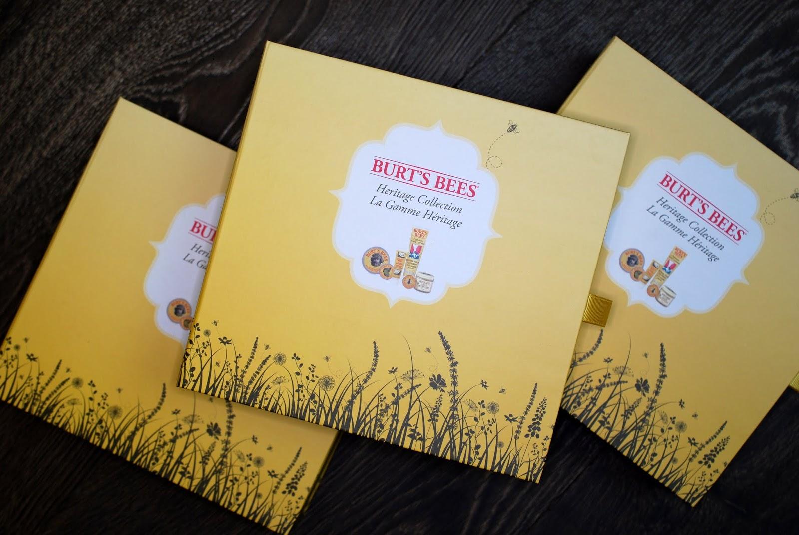 Gewinnspiel Burt's Bees Heritage Collection