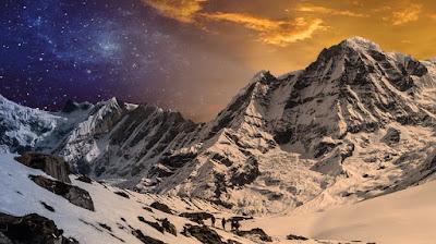 Manipulasi Foto Pegunungan Dua Dimensi Dengan Photoshop