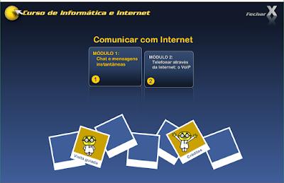 CURSO DE INFORMÁTICA E INTERNET - COMUNICAR COM INTERNET