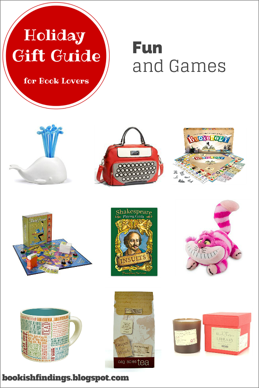 Holiday Gift Guide for Book Lovers - Fun and Games