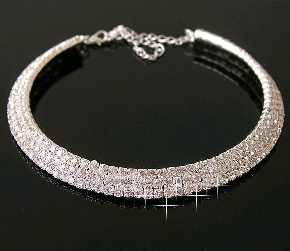 Sparkling Cuff Necklace