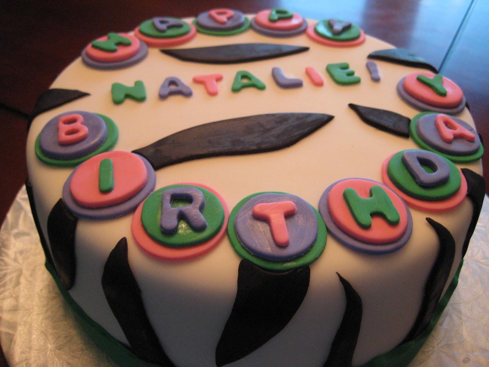 Happy Birthday Natalie Cake Brithday Cake