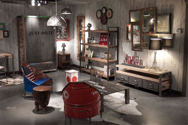 El blog de casa nueva junio 2013 for Muebles estilo industrial