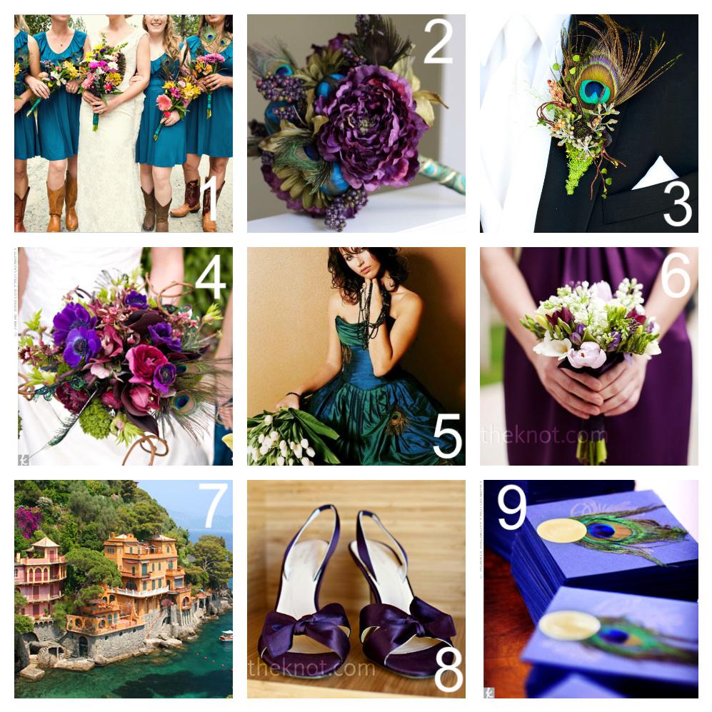 Forever Lovely Design Peacock Inspired Wedding