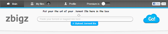 Zbigz-Leech Torrent Easily