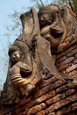 Shwe Inn Thein Pagoda, Inthein, Inle Lake, Myanmar