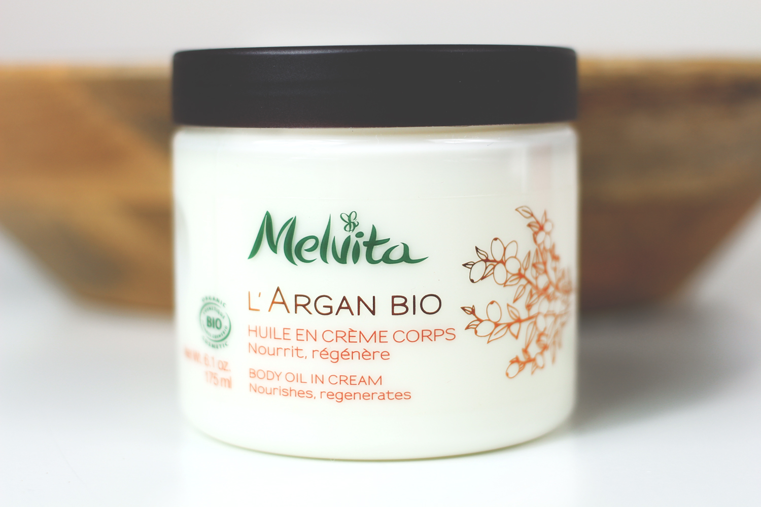 A beauty blogger reviews two natural body moisturisers, Antipodes Jubilation Body Cream and Melvita L'Argan Bio