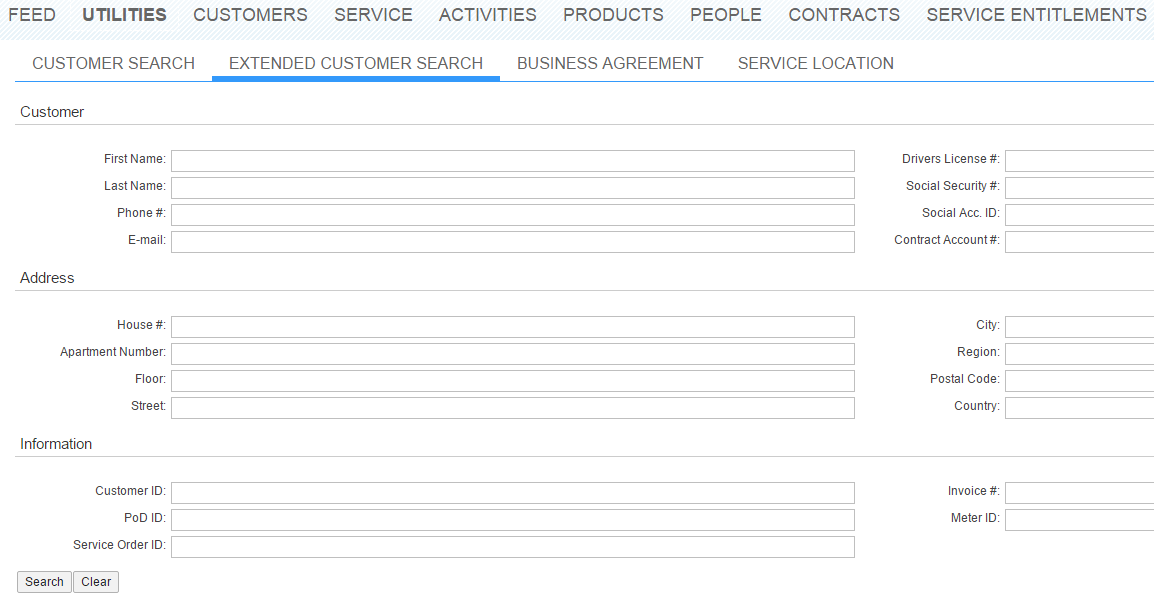 SAP Customer Search Va01 Tcodes ( Transaction Codes )