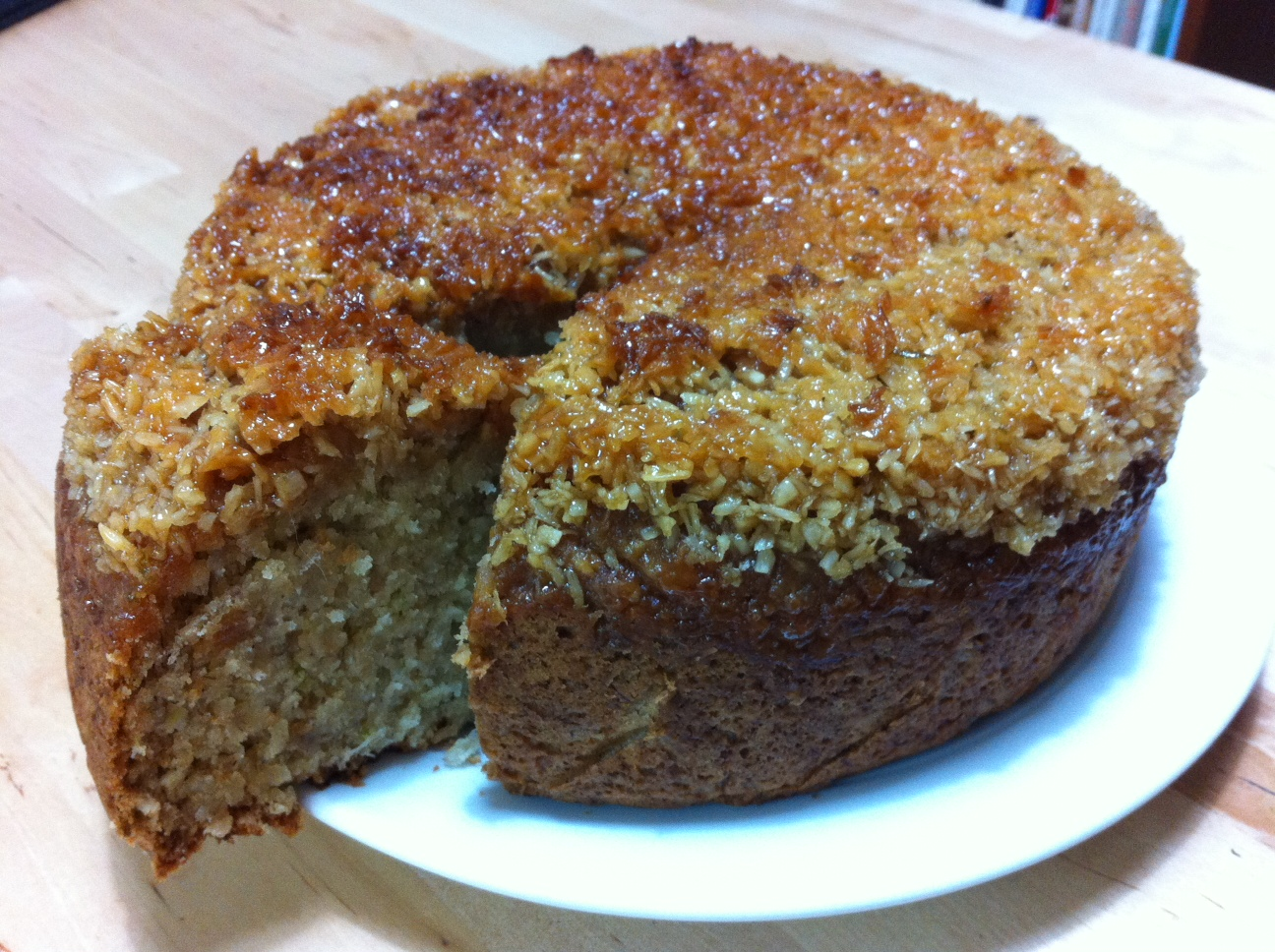 coconut banana and lime cake 2 5 deciliters unsweetened coconut
