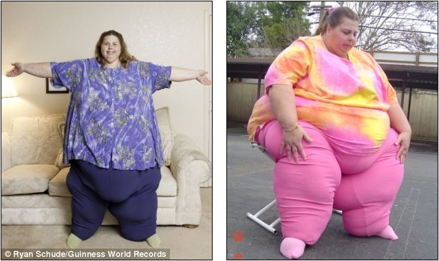 700 Pound Woman http://newsconner.blogspot.com/2011/09/i-blame-it-on-my-genes-700lb.html