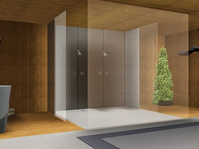 My Sims 3 Blog Theo Shower And Glass Wall By Blackbeauty583