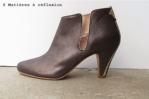 Ankle boots Patricia Blanchet roxy anthracite