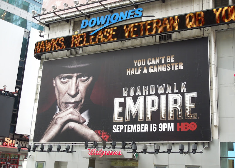 Boardwalk Empire season 3 billboard NYC