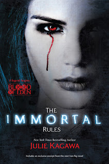 Book cover of Immortal Rules by Julie Kagawa