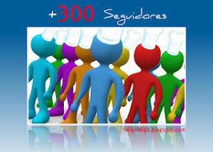 PREMIO +300 Seguidores