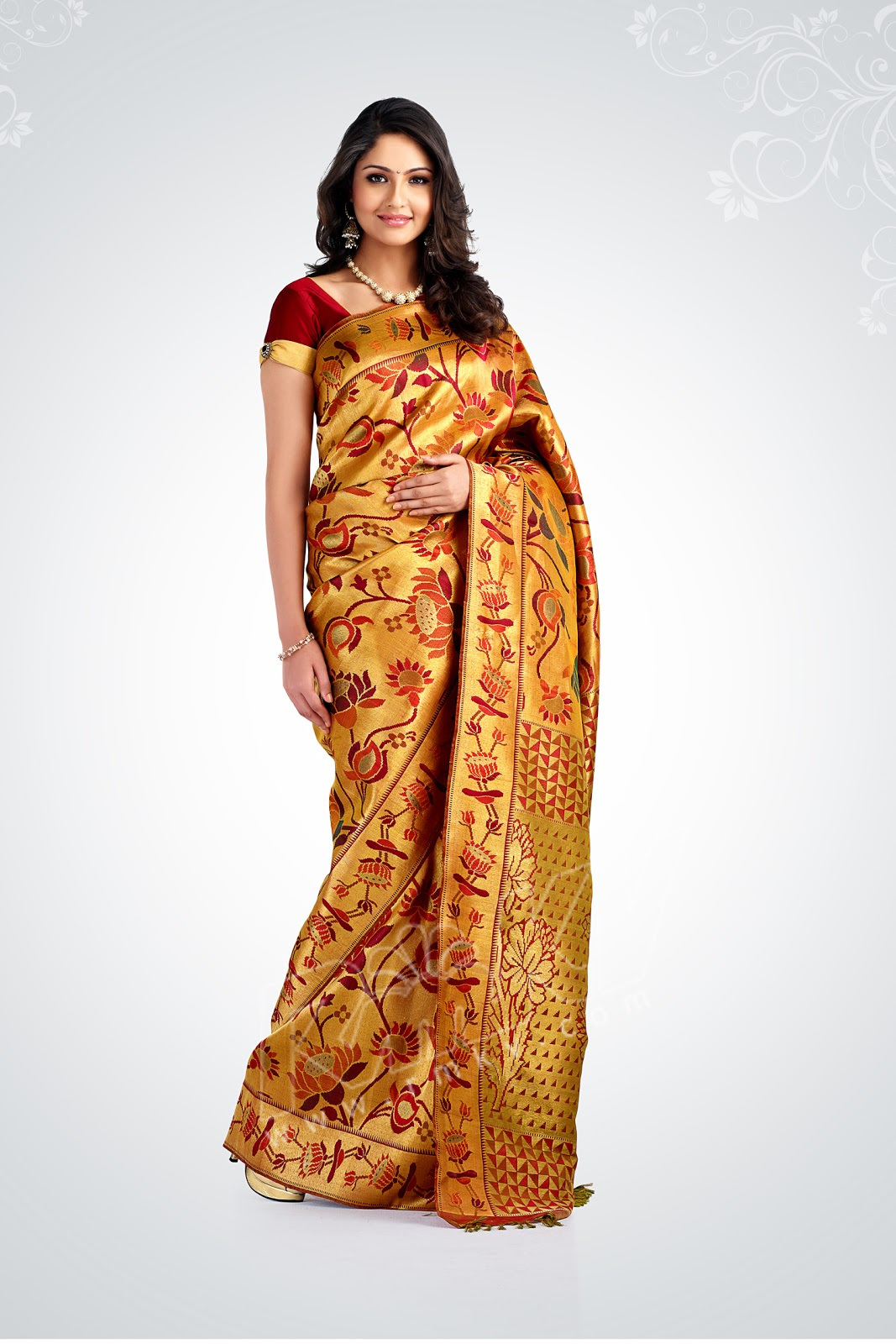 Marriage Sarees Rmkv Wedding Saree