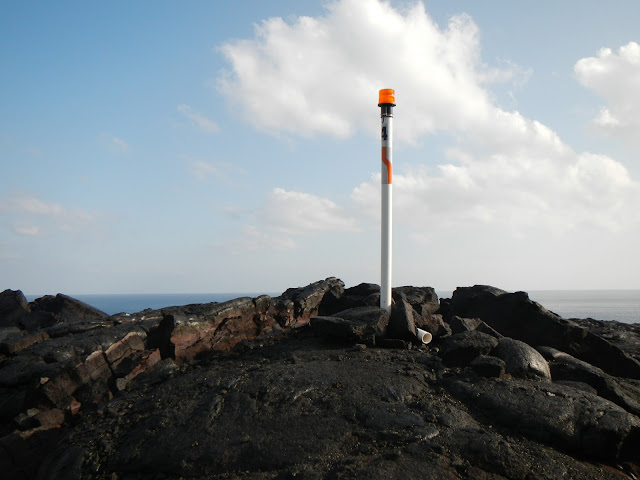 Beacon 4 to help find the way on the path to the lava flow. (c) 2013