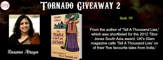 Tornado Giveaway 2: Book No. 94: THE TEMPLE IS NOT MY FATHER by Rasana Atreya