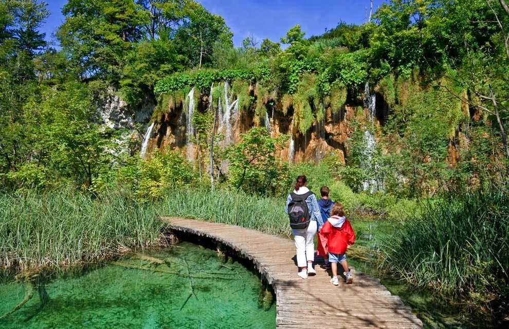 Plitvice is situated in a part of the world that makes it ideal for natural biodiversity, which means that visitors are able to observe an abundance of flora and fauna throughout the park. - You'd Never Want To Visit This Croatian National Park… It's A Bit Too Beautiful.
