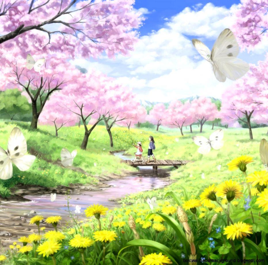 Spring Scenic Wallpaper