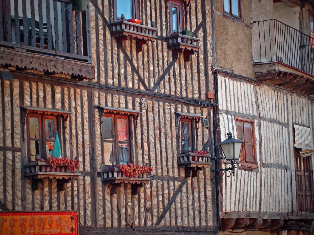 Típicas casas de La Alberca