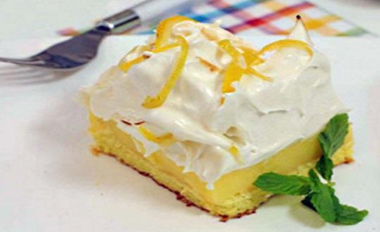 Crema de limon para lemon pie