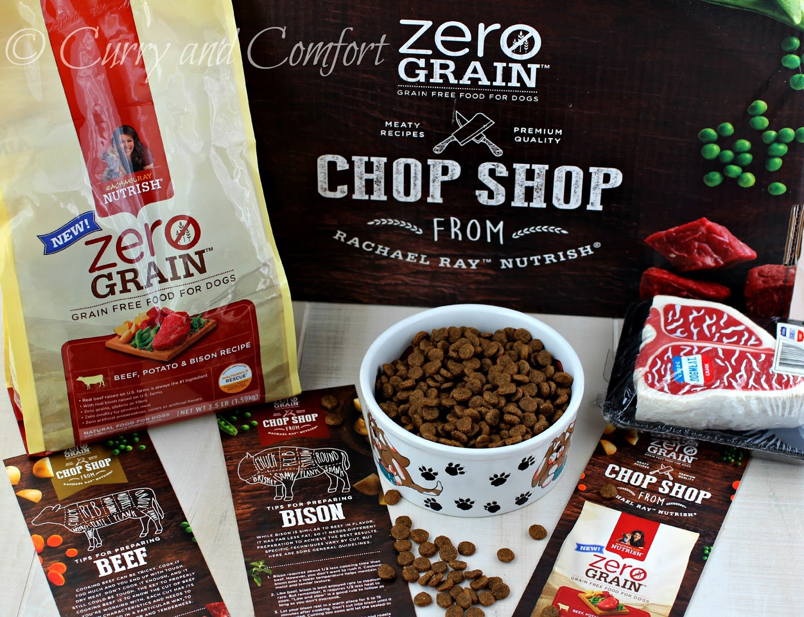 so when i was asked to try rachael ray zero grain beef and bison dry dog food i didnu0027t have to think twice it makes me happy because rachael ray nutrish