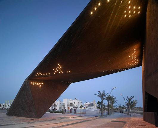 Urba actu la nouvelle porte de tierra c lida par le studio clavel arquitectos espagne - Clavel arquitectos ...