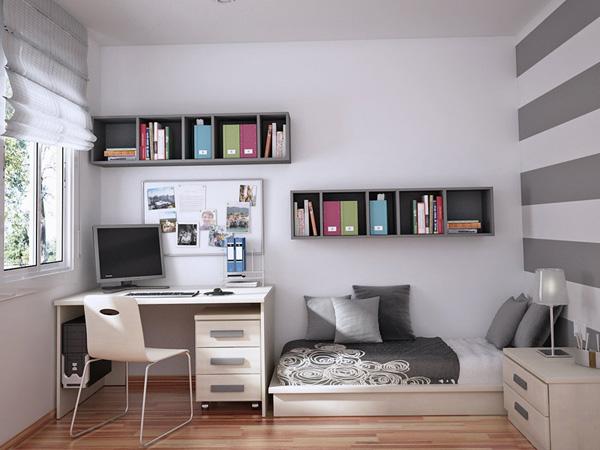 дизайн маленькой комнаты для подростка мальчика фото