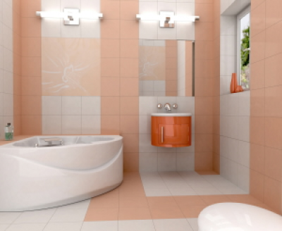 Pink And White Combination Bathroom Ideas