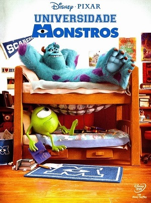 Universidade Monstros Blu-Ray Filmes Torrent Download capa