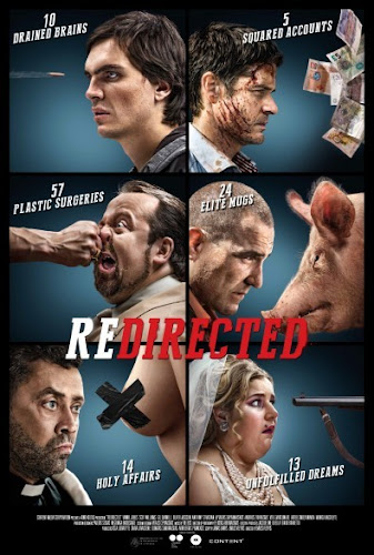 Poster Of Redirected 2014 In Hindi Dual Audio Bluray 720P Free Download