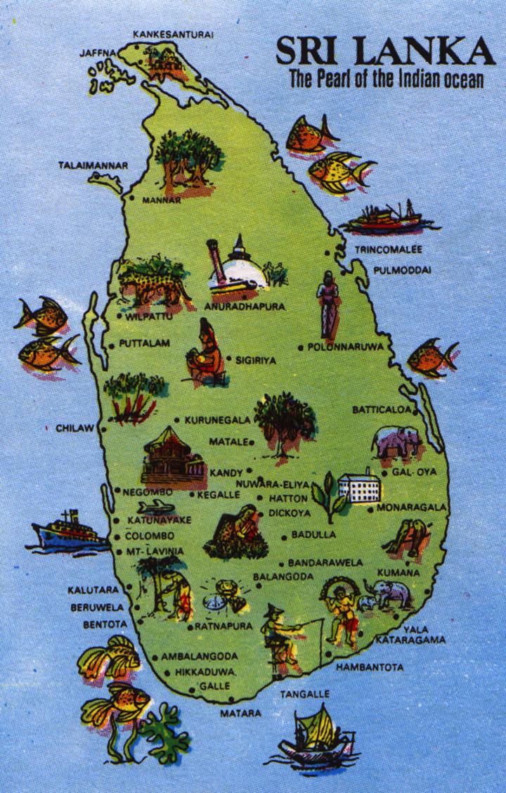 Sri Lanka Tourist Tradıtıonal Sınhala Place Road
