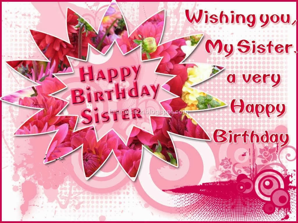 Birthday Wishes Cake Images For Sister : birthday wishes for sister with cake images - happy ...