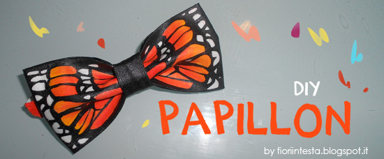 Fiori in testa diy sewing project un vero papillon for Cartamodello papillon