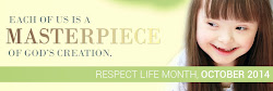 October: Respect Life Month