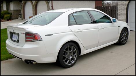 Acura 2007 on Acura Tl   Technology
