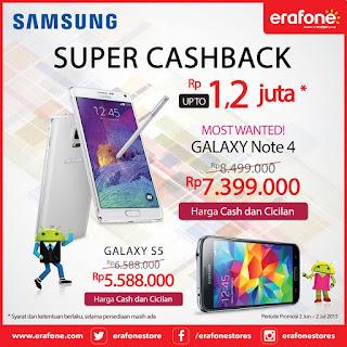 Samsung Super Cashback 2015