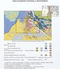 Carta Geológica de Tomar