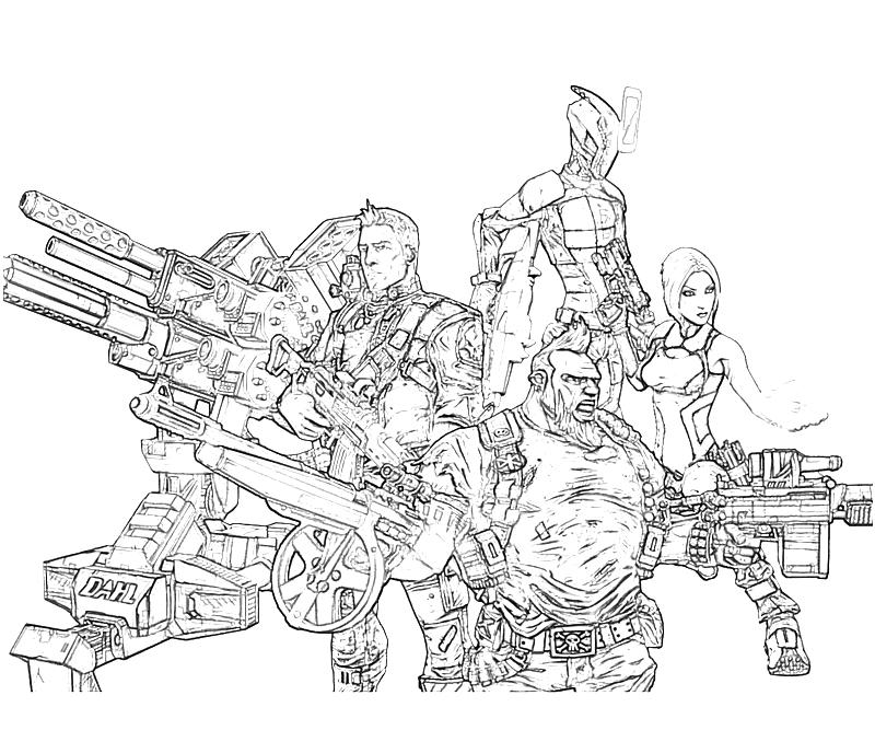 printable-borderlands-2-axton-characters_coloring-pages