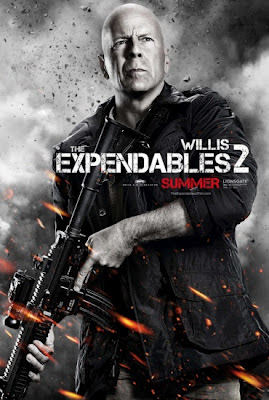 Bruce Willis The Expendables 2 2012