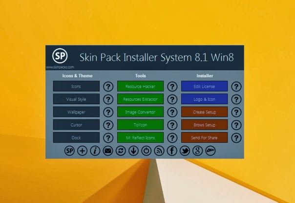 Download Skin Pack Installer System Offline Installer