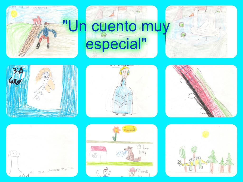 """Los chicos dibujaron """"Un cuento especial"""""""
