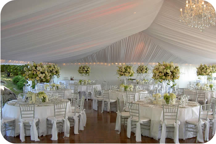Custom Wedding Tent