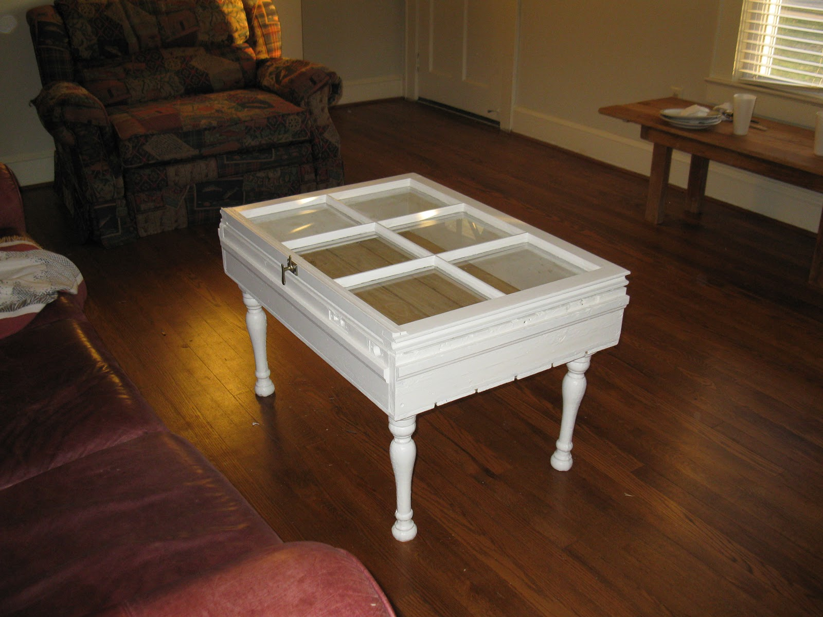 Martinterest Window Coffee Table